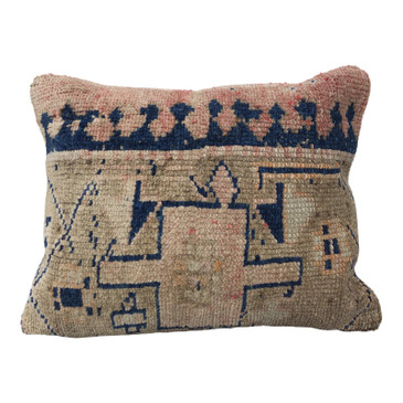 One-of-a-Kind Turkish Rug Pillow #1