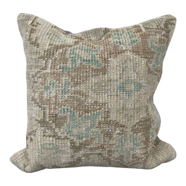 One-of-a-Kind Turkish Rug Pillow #2