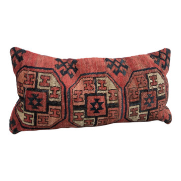 One-of-a-Kind Turkish Rug Pillow #3