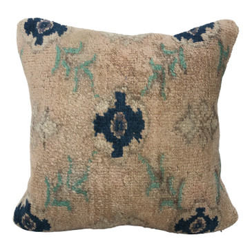 One-of-a-Kind Turkish Rug Pillow #5