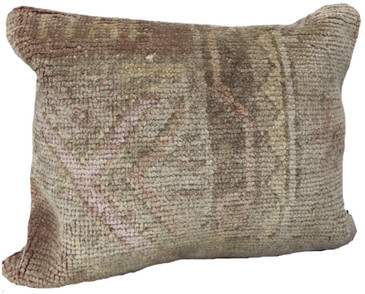 One-of-a-Kind Turkish Rug Pillow #8