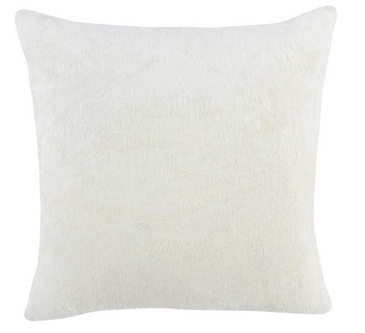 Ivory Chenille Pillow