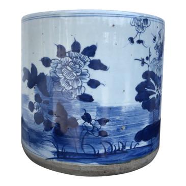 Chinese Blue & White Porcelain Planter