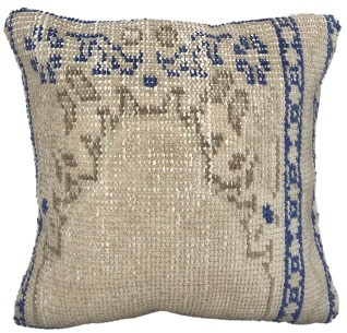 One-of-a-Kind Turkish Rug Pillow #14