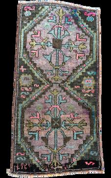 Vintage Anatolian Oushak Rug #2