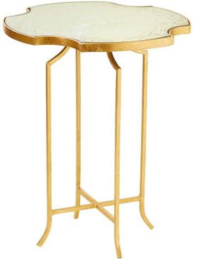 Quatrefoil Drink Table