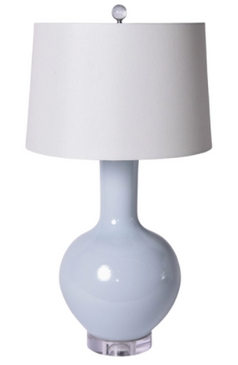 Icy Blue Table Lamp