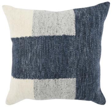 Woven Color Block Pillow