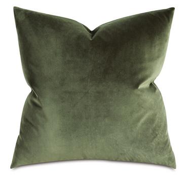 Velvet Pillow (Olive)