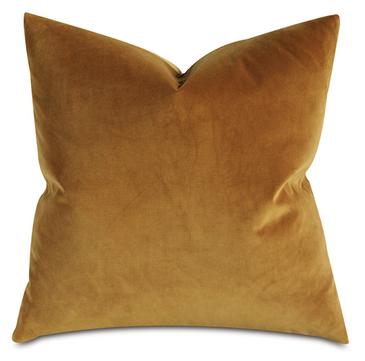Velvet Pillow (Gold)