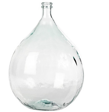 Clear Large Olive Bottle