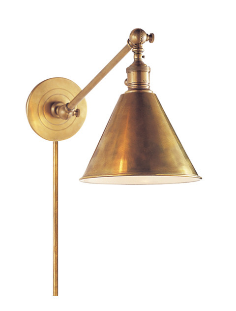 Hand-Rubbed Antique Brass