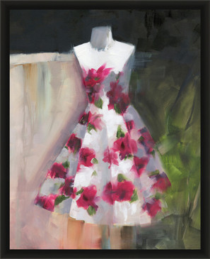 Couture Floral Dress