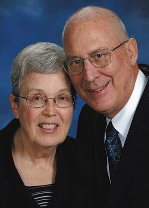 Vernon Putz and his wife