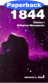 1844--#1/3 Religious Movements / Clark, Jerome L / Paperback