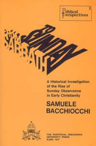 From Sabbath to Sunday / Bacchiocchi, Samuele