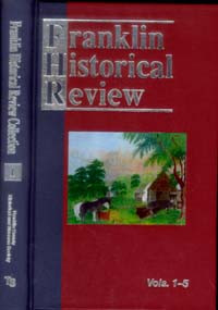 Franklin Historical Review Collection  1 / Franklin County Historical & Museum Society / Hardback