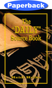 Daily Source Book / Heiks, Heidi / Paperback / LSI
