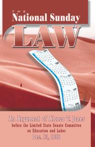 National Sunday Law, The / Jones, Alonzo Trevier / Paperback / LSI
