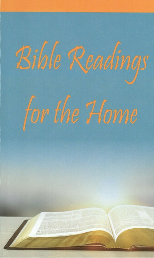 Bible Readings for the Home (NEW cover)