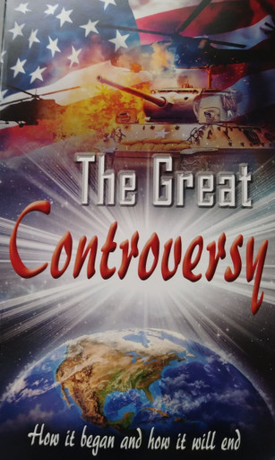 New Cover of Great Controversy, The (1888)