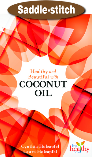 Front of Healthy and Beautiful with Coconut Oil