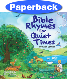 Cover of Bible Rhymes for Quiet Times