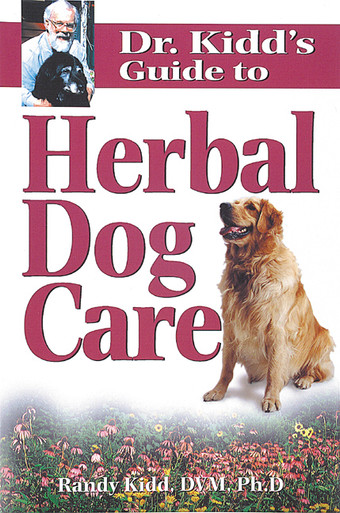 Cover of Dr. Kidd's Guide to Herbal Dog Care