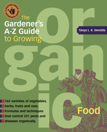 Cover of Gardener's A-Z Guide to Growing Organic Food