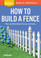 Cover of How to Build a Fence