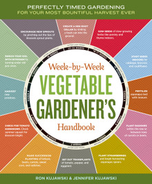 Cover of Week-by-Week Vegetable Gardener's Handbook