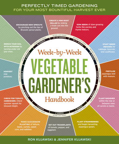 Cover of Week-by-Week Vegetable Gardener's Handbook
