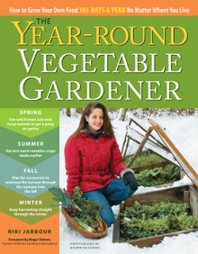 Cover of Year-Round Vegetable Gardener
