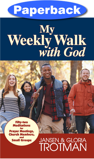 Cover of My Weekly Walk with God