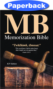 Memorization Bible / KJV Bible / Paperback / LSI