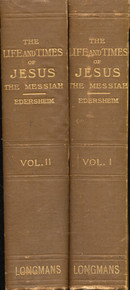 Cover of Life and Times of Jesus the Messiah, The (Set of 2)