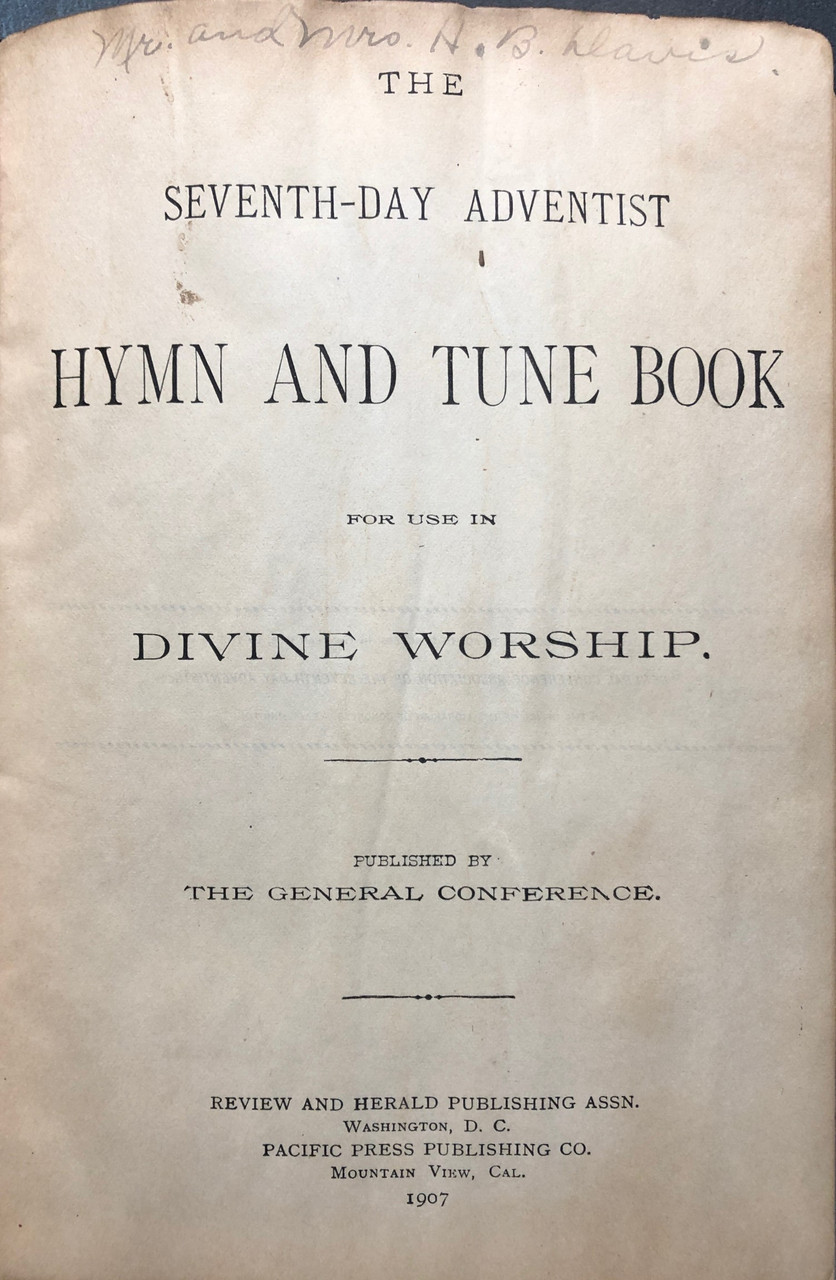 SDA Hymn and Tune Book, The / Song Books / (IL/1888-1907/C-/USED