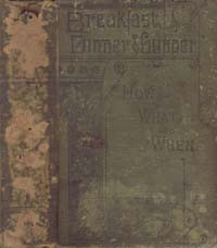 Cover of Breakfast, Dinner, and Supper; How, What, and When