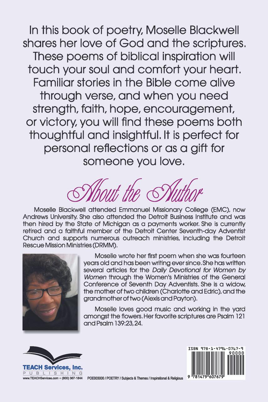Poems For God / Blackwell, Moselle Slaten / Paperback / LSI