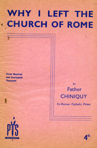 Cover of Why I left the church of Rome