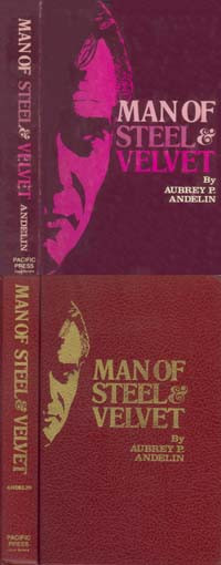 Cover of Man of Steel and Velvet