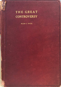 Cover of The Great Controversy Between Christ and Satan