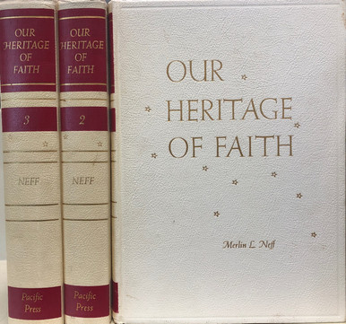 Cover of  Our Heritage of Faith
