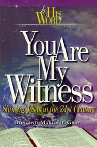Cover of You Are His Witness