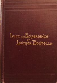 Cover of Sketch of the Life and Religious Experience of Luther Boutelle