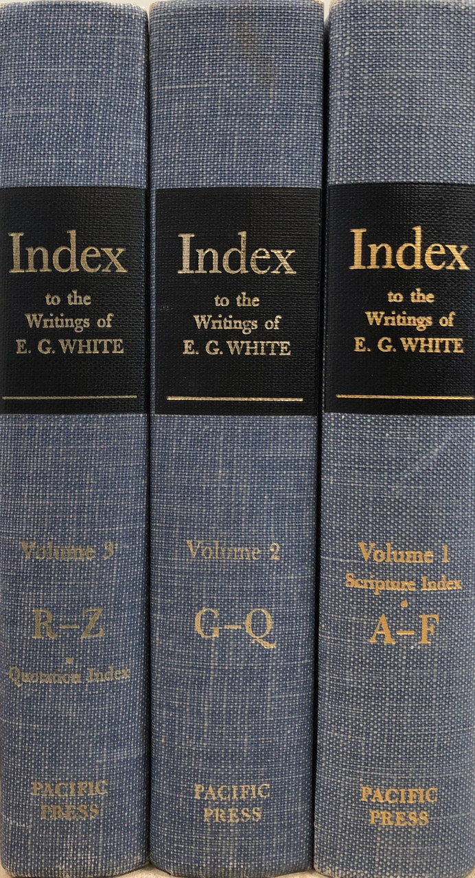 Comprehensive Index to the Writings of Ellen G  White (Set