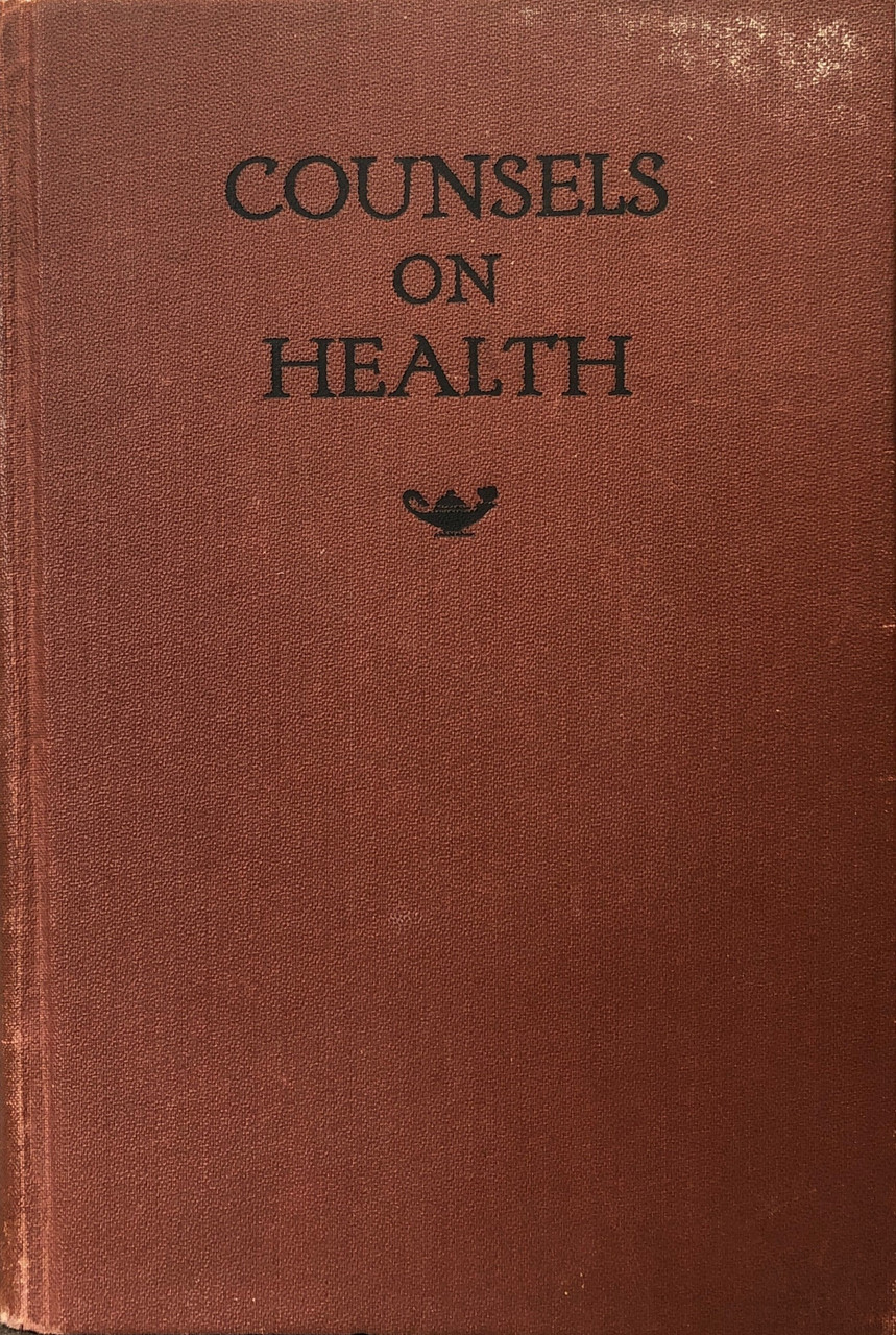 Counsels on Health / White, Ellen G / (HB/1923-1923/C+/USED