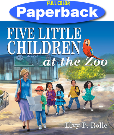 Front Cover of Five Little Children at the Zoo