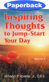 Front cover of Inspiring Thoughts to Jump-Start Your Day
