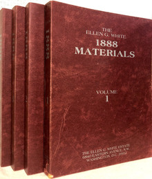Ellen G White 1888 Materials (Set of 4) / White, Ellen G / (PB/1987-1987/B-/USED)